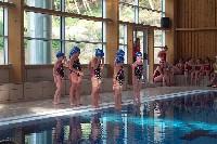 Las nadadoras ofrecerán una exhibición de natación sincronizada